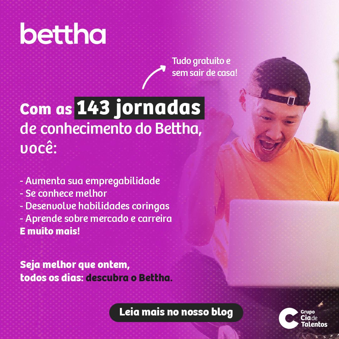 Jornadas de conhecimento do Bettha